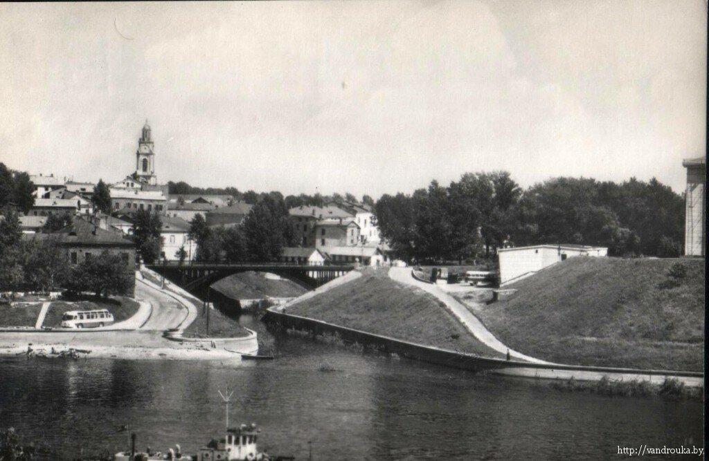 7. Устье реки Витьба — древняя часть города