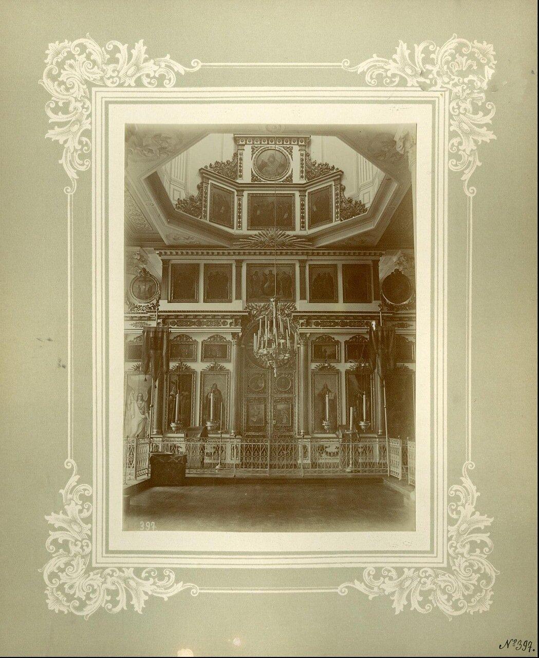 Иконостас Александро-Невской церкви