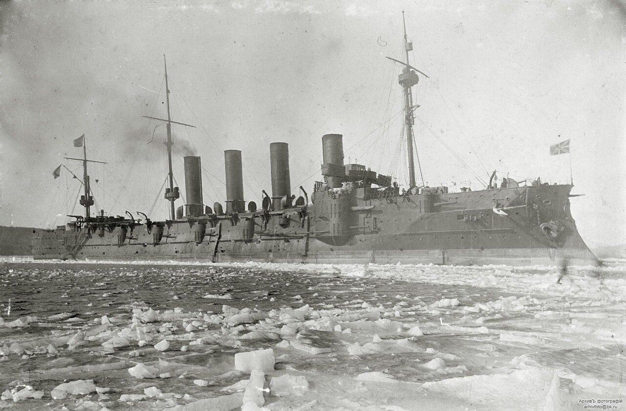Броненосный крейсер Громобой.