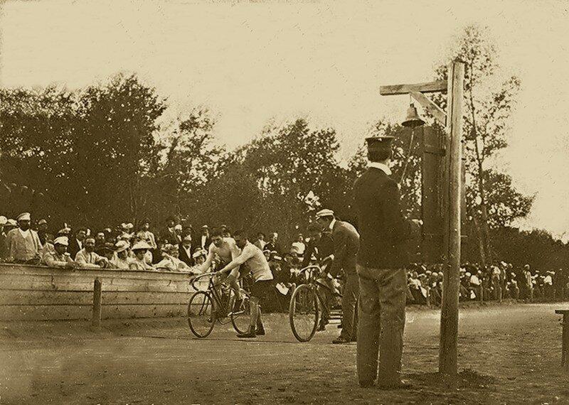 Велогонки. 1903