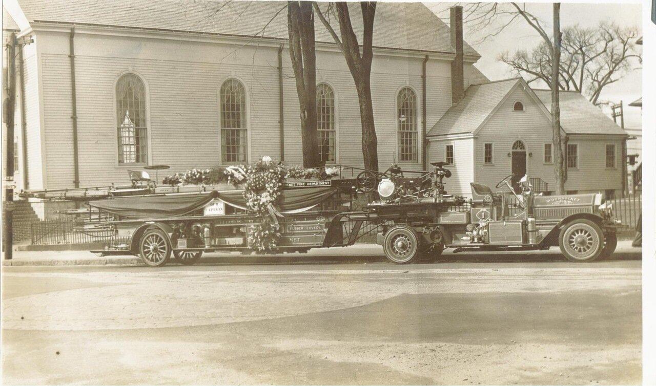 Пожарный пункт №1. 1930-е