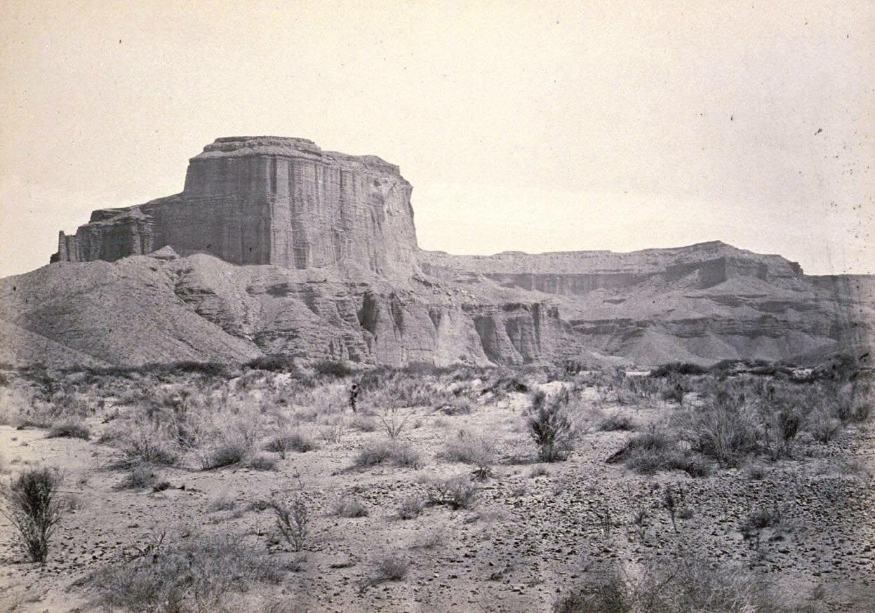 Меса, река Колорадо, Аризона, 1871
