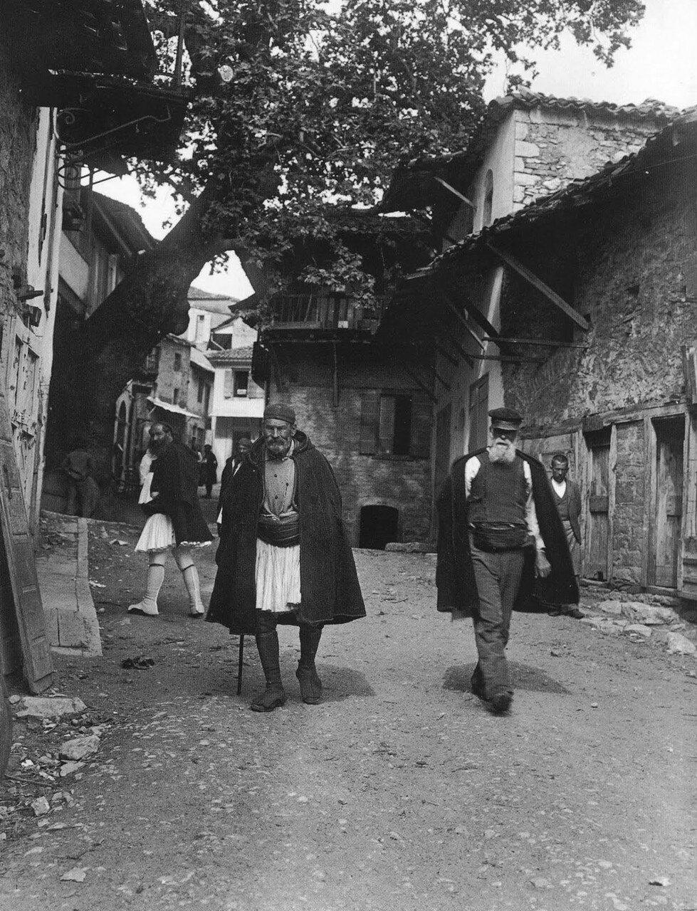 1903. Андрицена. Уличная сцена