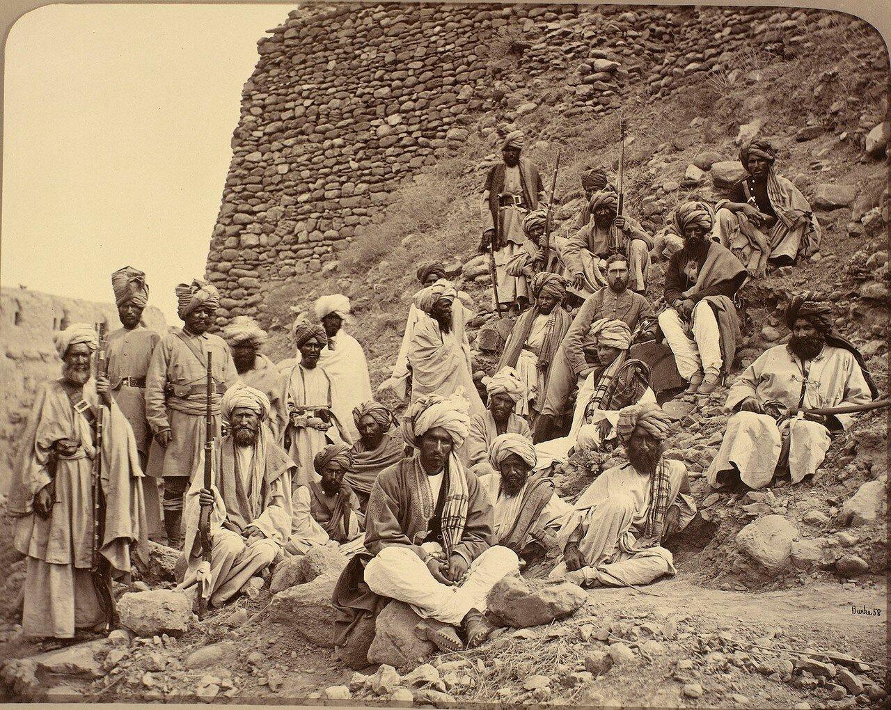 Крепость Джамруд. Капитан Такер и афганские вожди