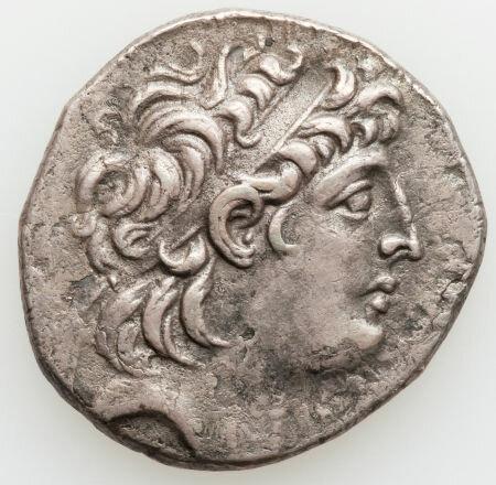 AR tetradrachm,  121-113 BC