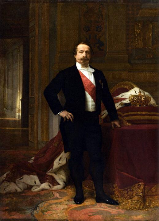 Наполеон III, ок.1865, Александр Кабанель (1823–1889)