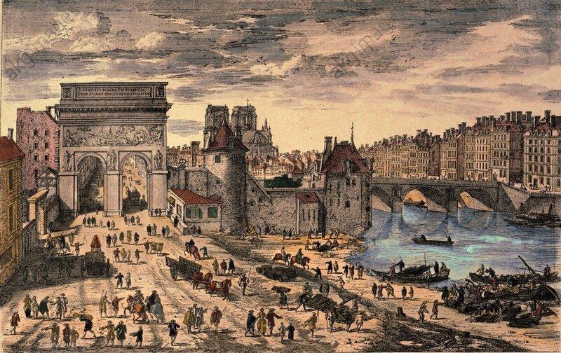 Paris, Porte Saint-Bernard / Perelle - Paris, Porte Saint-Bernard / Perelle -