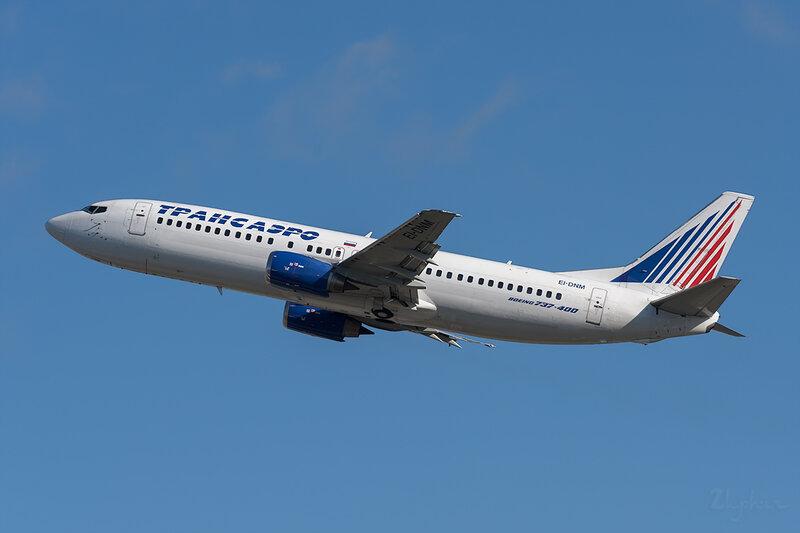 Boeing 737-4S3 (EI-DNM) Трансаэро DSC6797