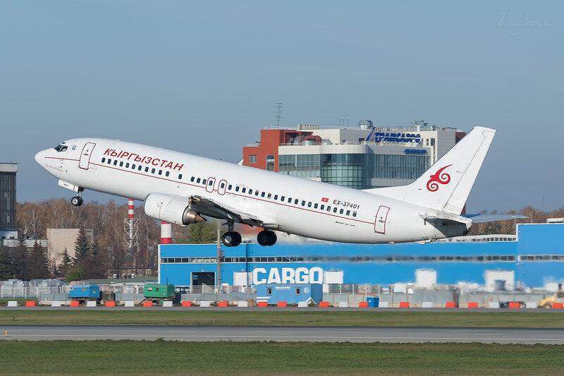 Boeing 737-484 (EX-37401) Кыргызстан DSC7087