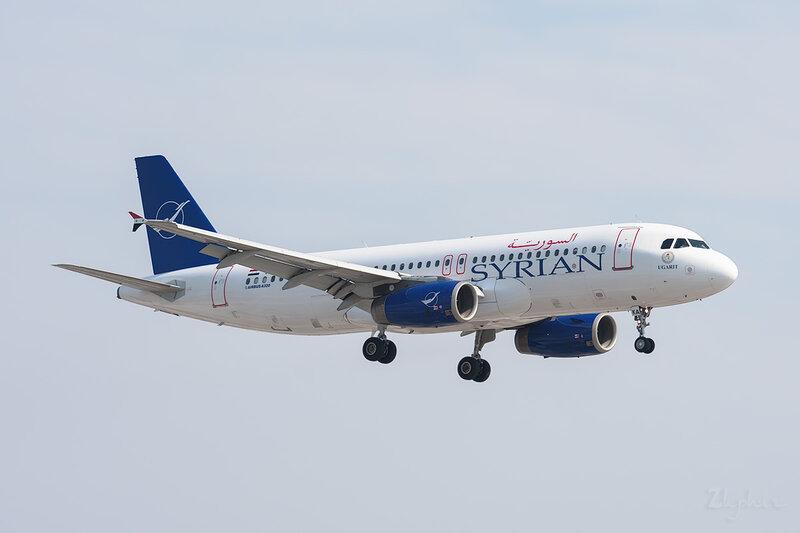 Airbus A320-232 (YK-AKA) Syrian Air DSC_9384