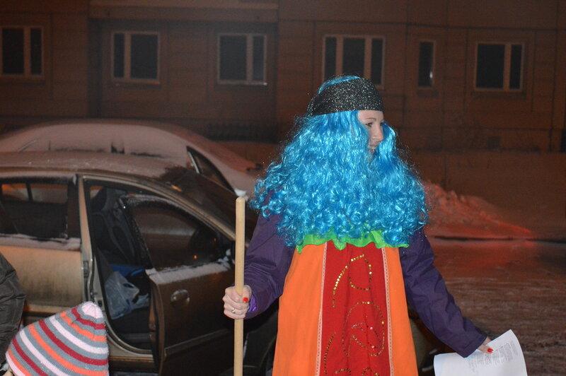 г.Чехов мкр.Губернский ул.Уездная Встреча НГ 2013.