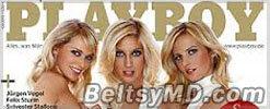 Три немецкие спортсменки разделись для журнала Playboy