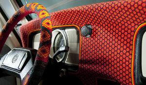В Германии красуется автомобиль полностью покрытый бисером
