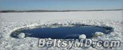 В озере Чебаркуль никаких обломков метеорита не найдено