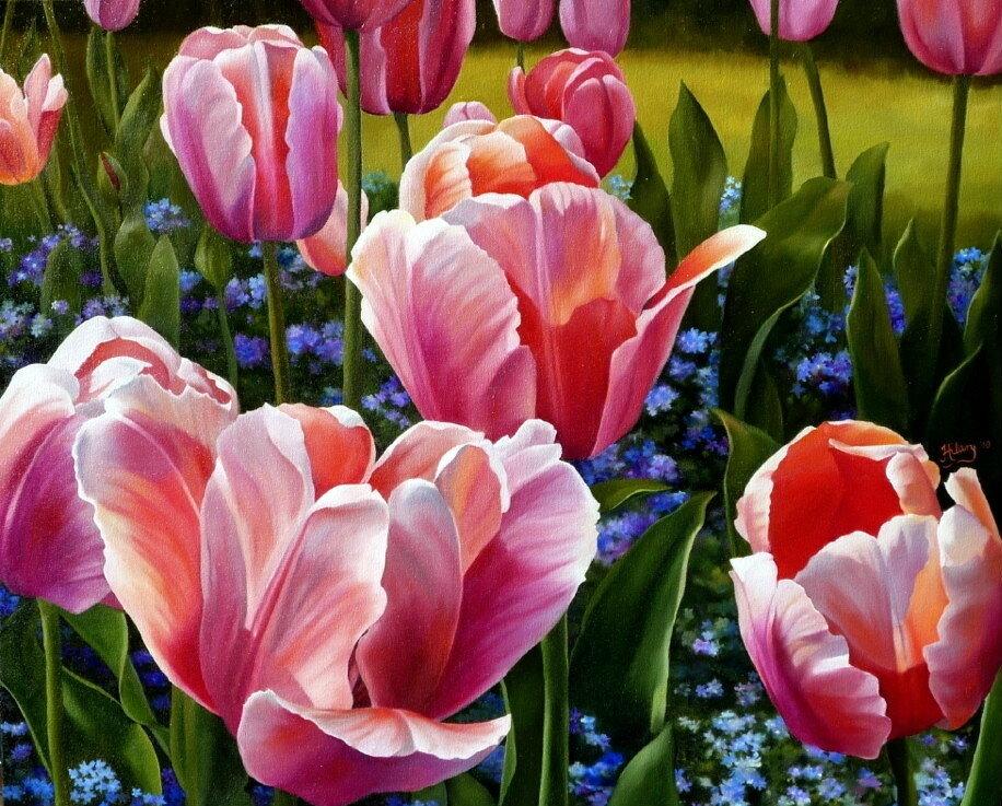 Цветы источник вдохновения!