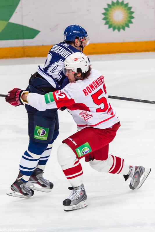 «Амур» vs «Спартак» 1:2 чемпионат КХЛ 2012-2013 (Фото)