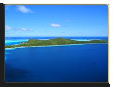 Французская Полинезия. Bora Bora , areal view wilar - shutterstock