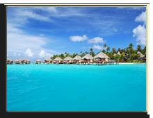 Французская Полинезия. Over water bungalow. Фото wilar - shutterstock