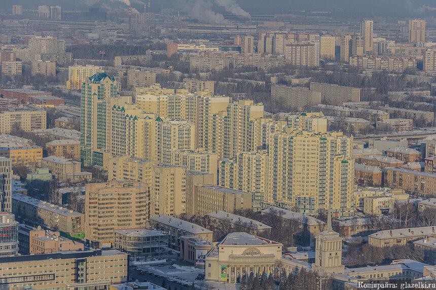 Жилой квартал Бажовский. Екатеринбург.