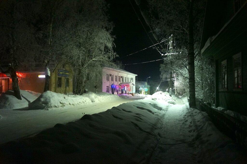 Здание администрации Максатихинского района