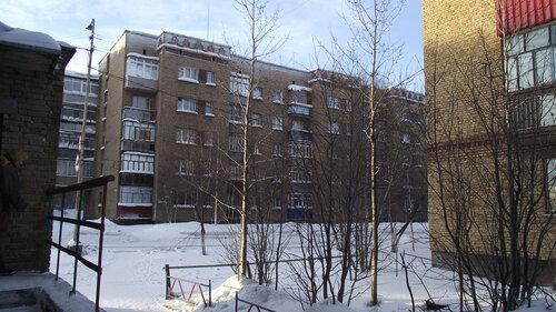 Фотография Инты №2996  Воркутинская 1 и 2 (вид от северо-западного угла Куратова 40) 01.02.2013_13:06