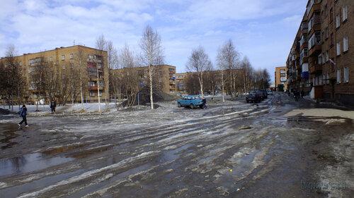 Фото города Инта №4109  Мира 35, 31, 29 и 33 18.04.2013_13:56