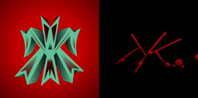 Каллиграф против графического дизайнера. Martina Flor VS Giuseppe Salerno. Проект-батл.