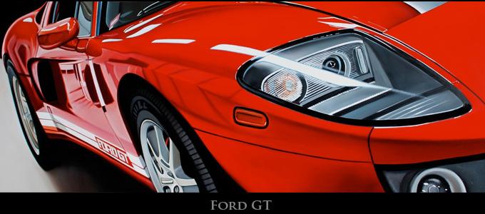 Гиперреалистичн10f8ые американские автомобили на картинах Cheryl Kelley / Шерил Келли