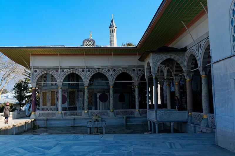 Стамбул. Султанский дворец Топкапи.