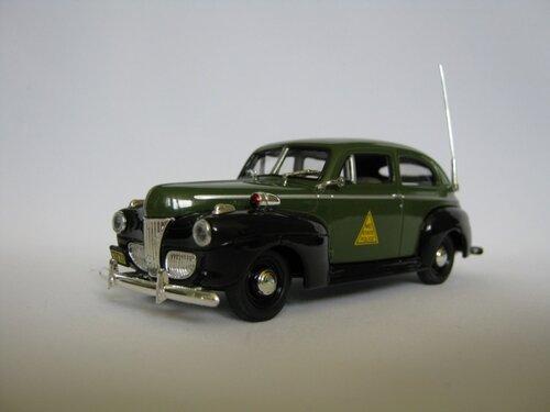 Полицейские Машины Мира №50 - Ford Fordor 1947