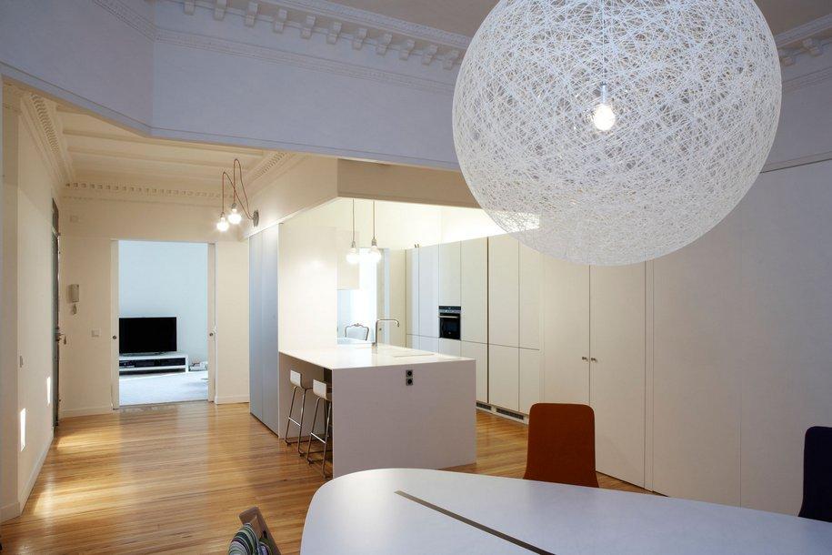 Просторная квартира в центре Мадрида