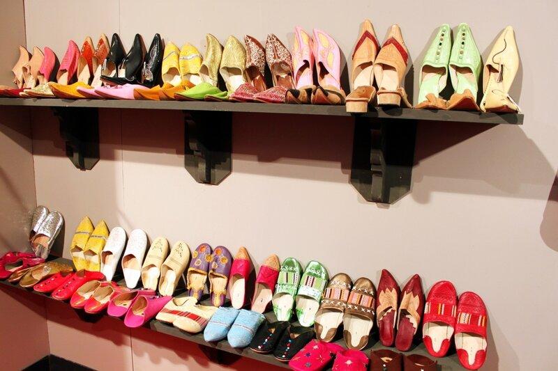 Марокканская обувь