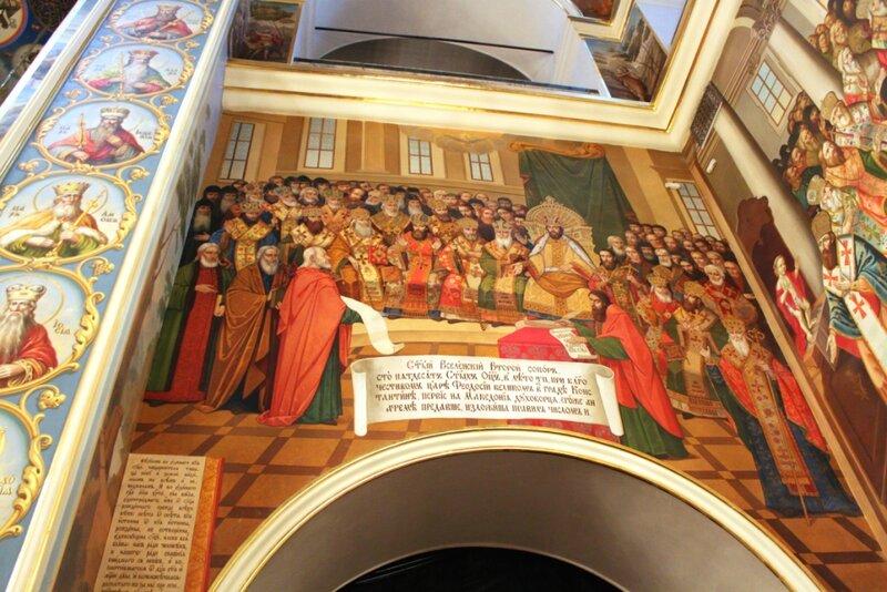 Настенные росписи Успенского собора