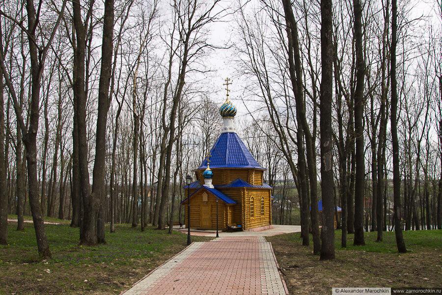 Церковь праведного воина Феодора Ушакова в Макаровском монастыре Саранск