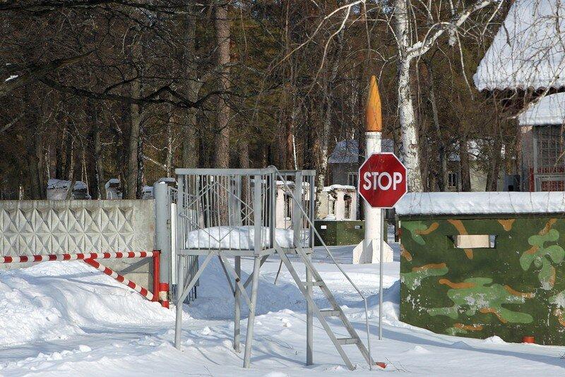 Где в Бузулукском бору рвались снаряды