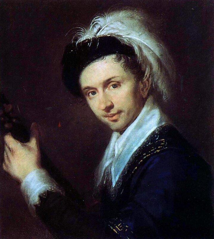 Алексей Венецианов, Портрет художника И. В. Бугаевского-Благодарного 1815