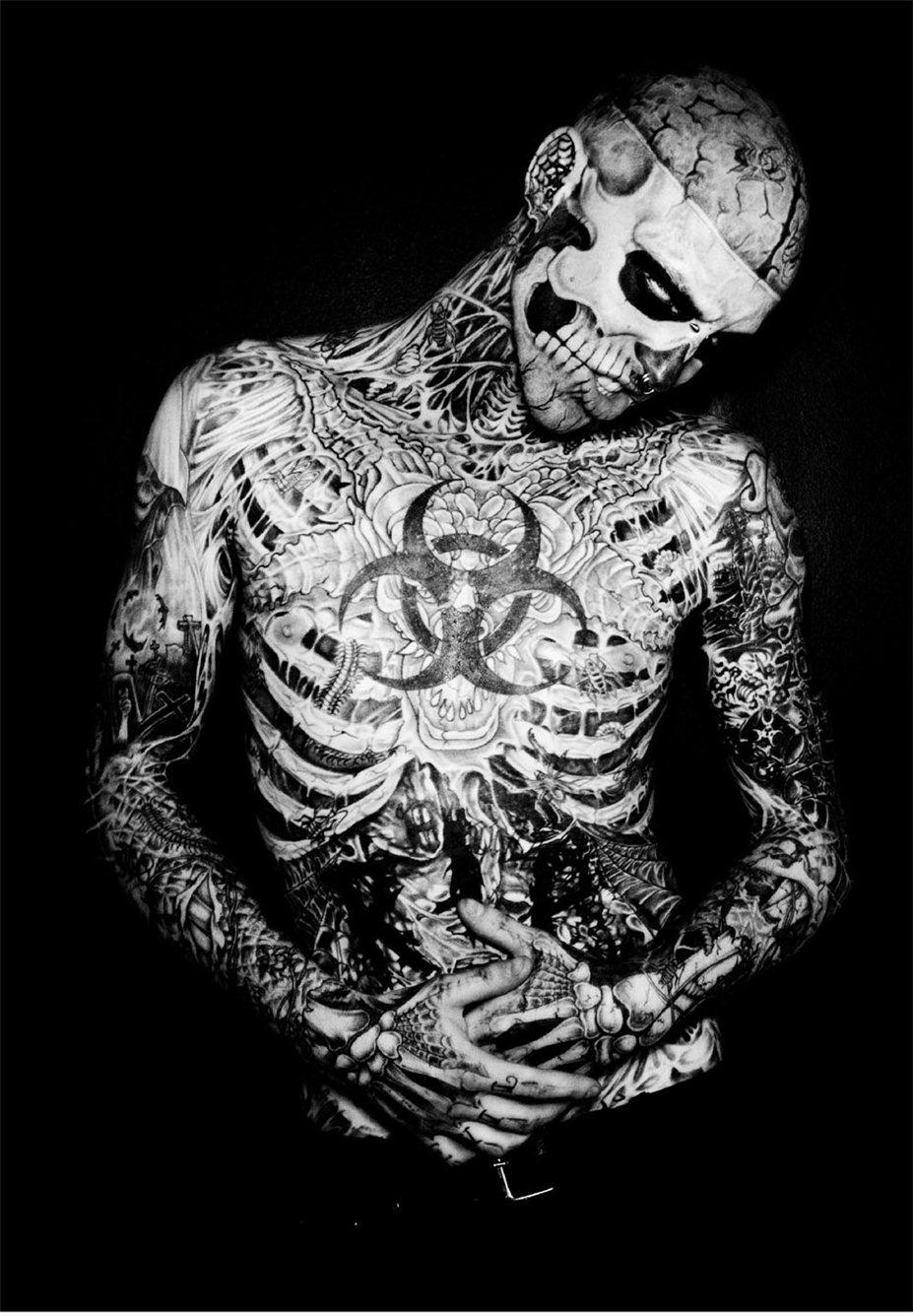 Zombie Boy by Romulo Soares in U Magazine