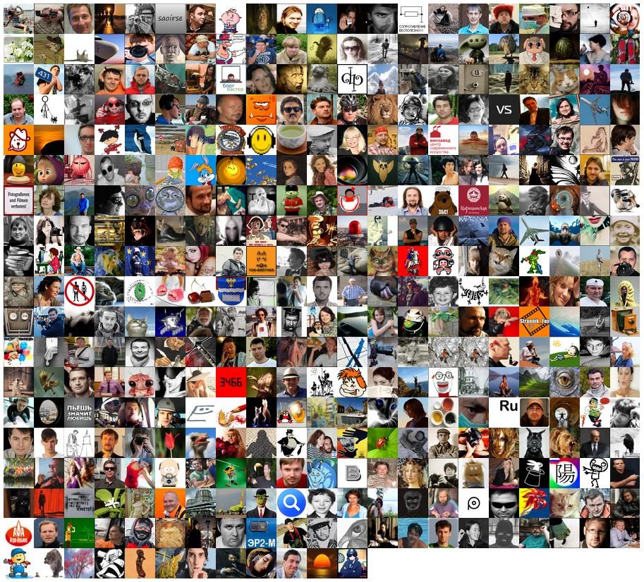Коллаж моих дорогих друзей на начало 2013-го года