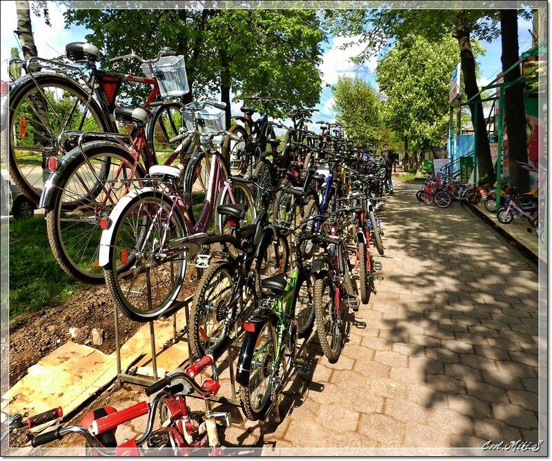 Велосипедный ряд.