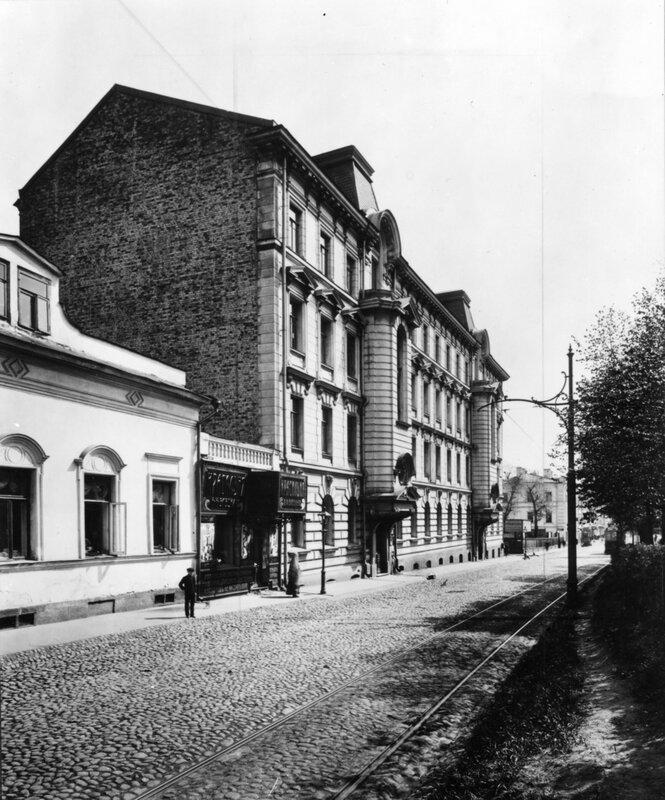 Петровский бульвар. 1910-е гг.