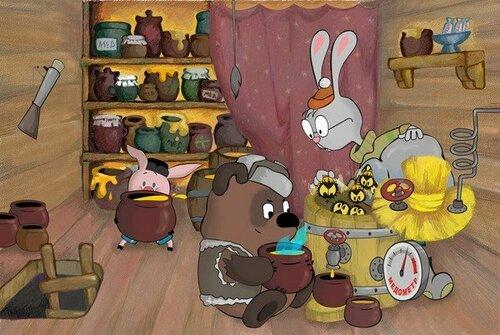 Винни-Пух в кино - любимый и разный!