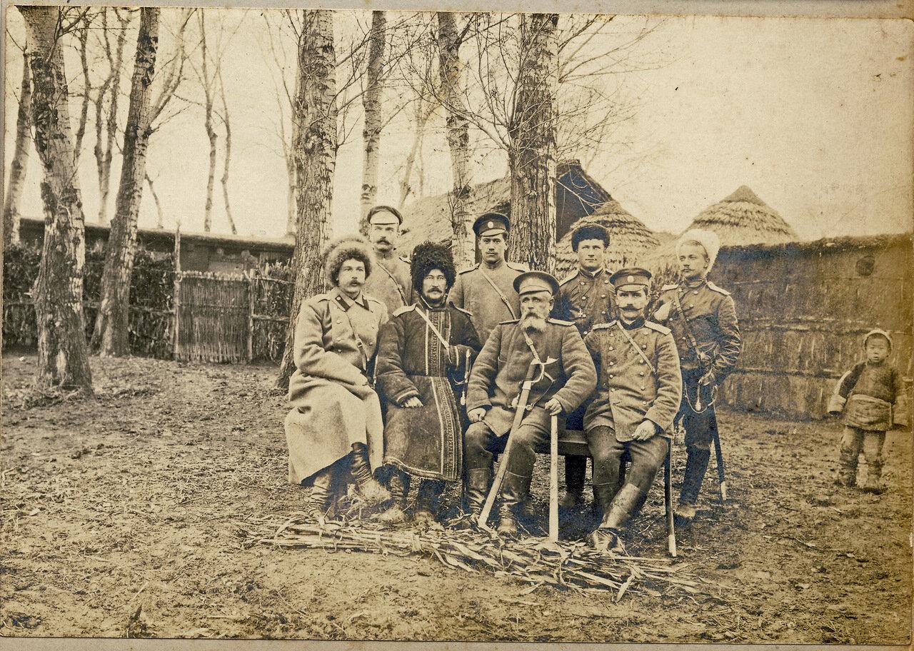 В Маньчжурии 1905 год