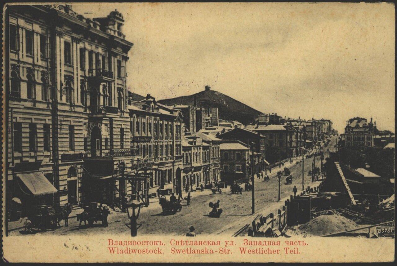 Владивосток. Светланская улица 1904-1909.