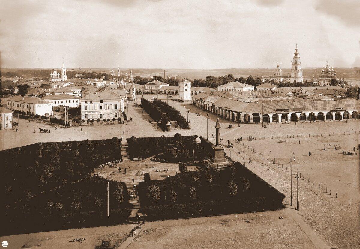 Сусанинская площадь. (Фото-Макаревский А.А. 1913 г)