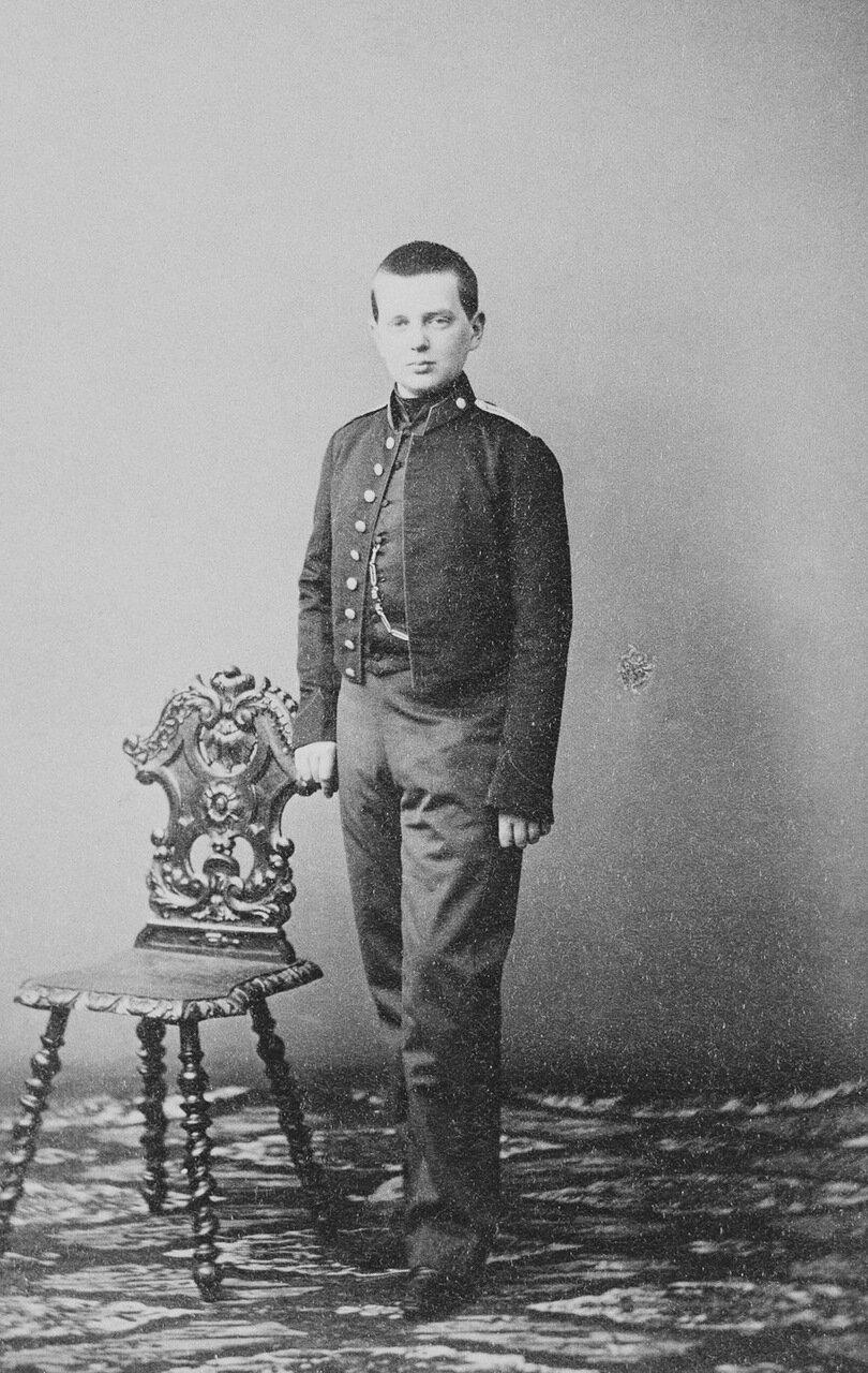 Великий князь Владимир Александрович, 3-й сын императора Александра II и императрицы Марии Александровны. 1861 г.