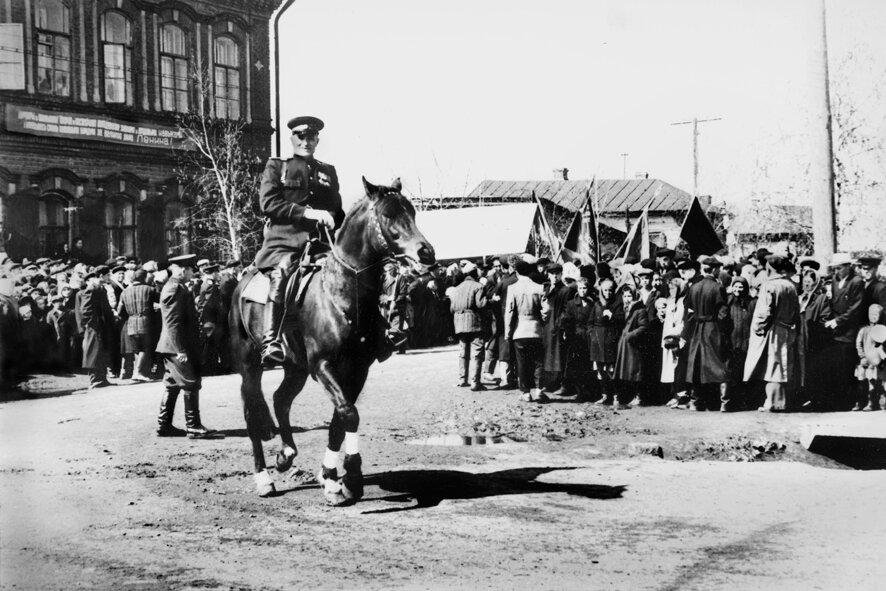1959. Начальник милиции. 1 Мая