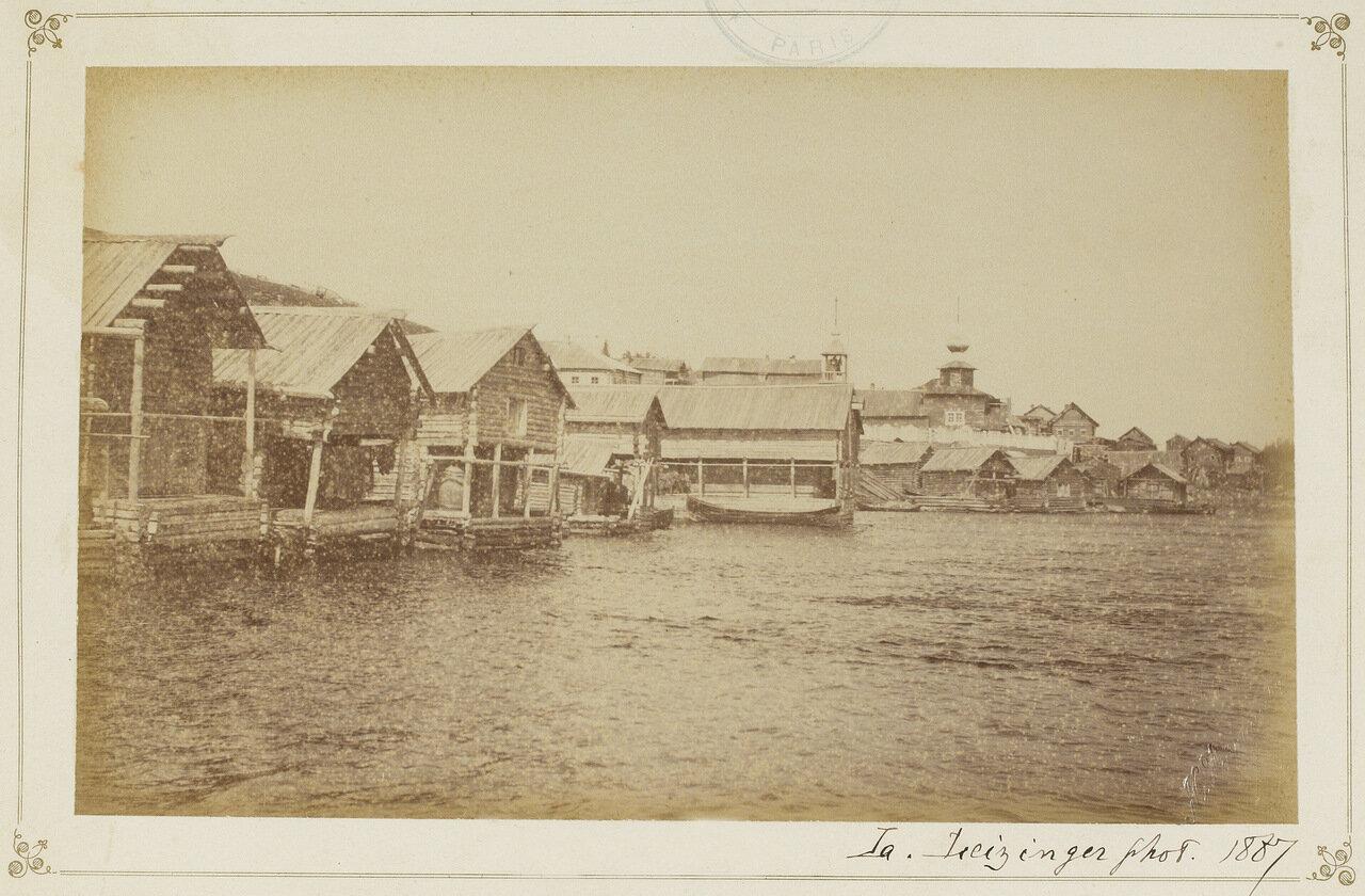 Поморское село Умба