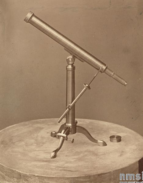 Телескоп М.Хербста в Пулковской обсерватории, 1876 г.