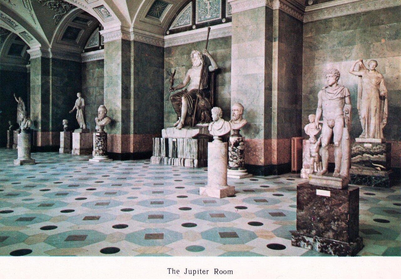 Зал Юпитера в Новом Эрмитаже