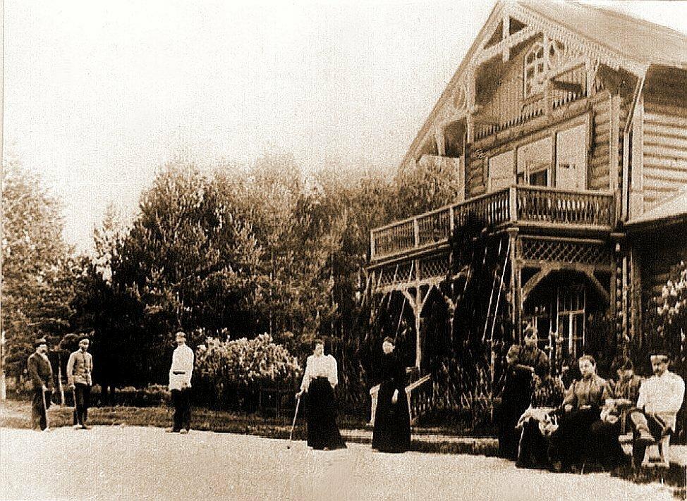 Усадьба Александровское Кинешемского уезда. Господский дом.1895